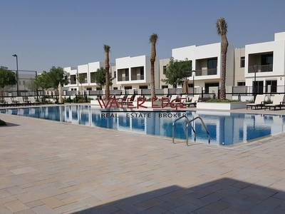 3 Bedroom Villa for Rent in Town Square, Dubai - 4 chqs I Type 1 single row Nice Location I Bright unit