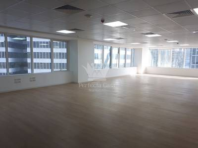 Office for Sale in Business Bay, Dubai - Fitted Office With Lake View - WestBurry