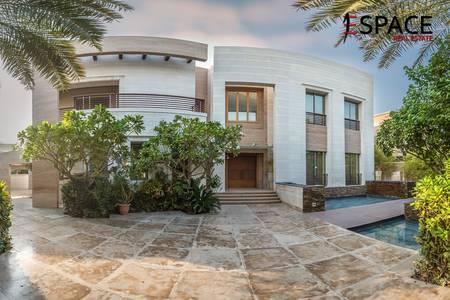 5 Bedroom Villa for Rent in Emirates Hills, Dubai - Unique Villa - P Sector - Full Lake View