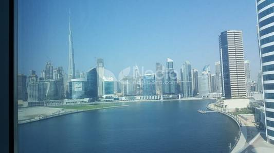 Office for Sale in Business Bay, Dubai - Fitted Office| XL Tower Business Bay | Full Canal View