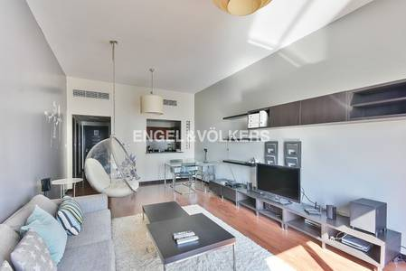 1 Bedroom Apartment for Rent in Jumeirah Lake Towers (JLT), Dubai - Stylish Furniture | Lake Views | Free AC