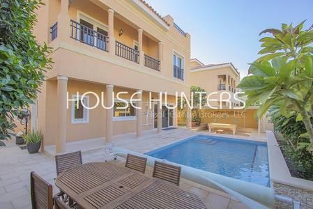 5 Bedroom Villa for Sale in The Villa, Dubai - Exclusive|Extended Mazaya villa|Park view