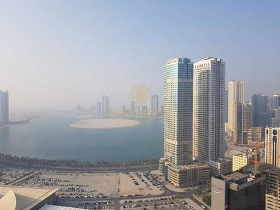 2 Bedroom Flat for Rent in Al Taawun, Sharjah - Sea View Lavish 2 Bedroom + Pool + Gym - Al Taawun
