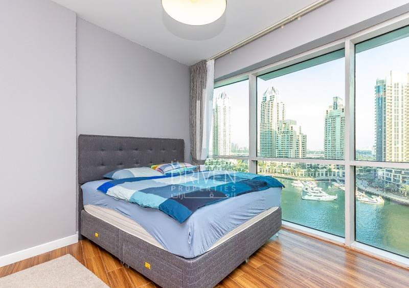 2 Upgraded 1BR Unit with Full Marina Views