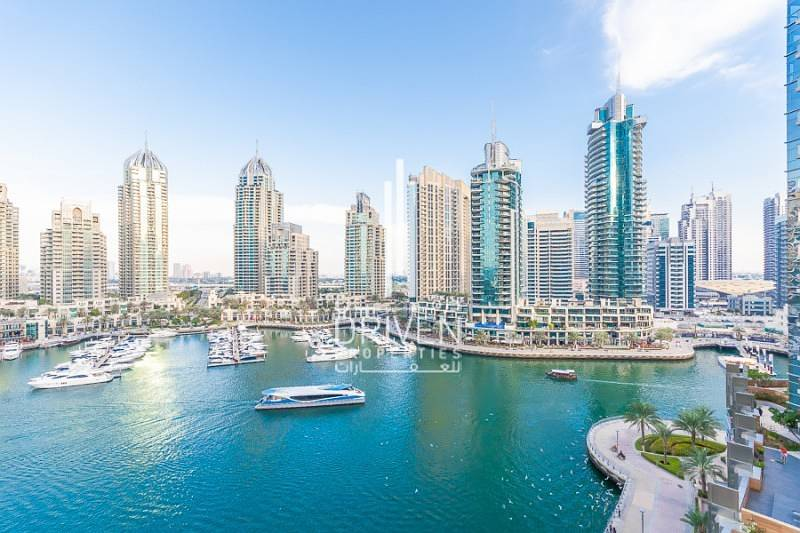 10 Upgraded 1BR Unit with Full Marina Views