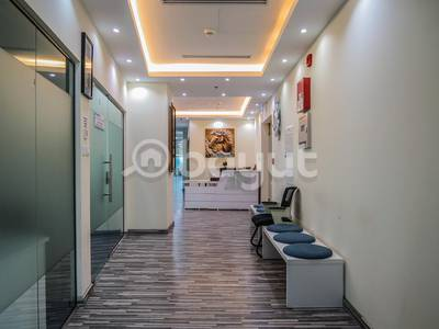 Office for Rent in Business Bay, Dubai - WELL FITTED OFFICE FOR RENT IN IRIS BAY TOWER!
