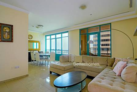 2 Bedroom Apartment for Sale in Dubai Marina, Dubai - High Floor | Partial Sea View | Balcony
