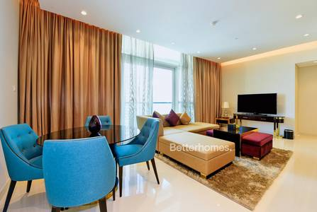 3 Bedroom Apartment for Rent in Downtown Dubai, Dubai - Furnished | High Floor | Full Canal View