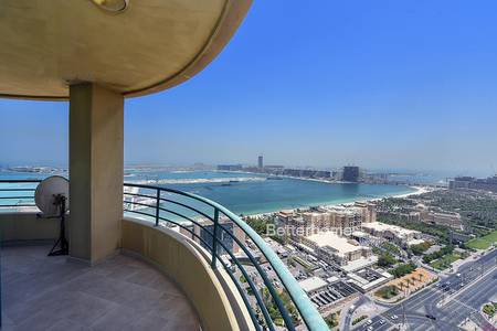 3 Bedroom Flat for Sale in Dubai Marina, Dubai - Panoramic Sea Views | Furnished | Vacant