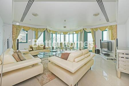 3 Bedroom Flat for Rent in Dubai Marina, Dubai - 3 Bedroom | Marina Crown | Sea View