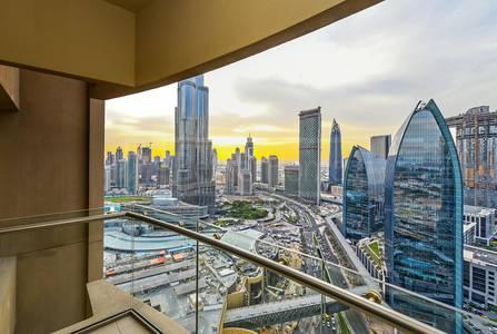 Studio for Sale in Downtown Dubai, Dubai - Full Burj and Fountain View   Studio @ High Floor