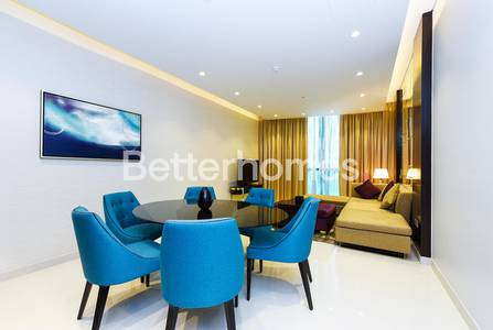 3 Bedroom Hotel Apartment for Rent in Downtown Dubai, Dubai - Fully Furnished in Upper Crest 1 Bedroom
