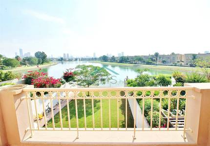 3 Bedroom Villa for Rent in The Springs, Dubai - Full Lake View | 3 Bedroom + Study | View NOW