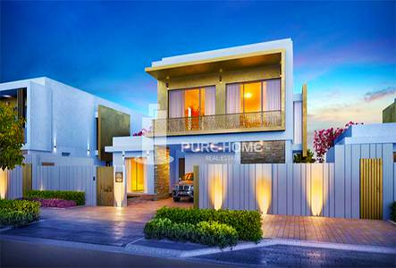 3 Bedroom Villa for Sale in Yas Island, Abu Dhabi - 3 Bedrooms Villa For Only 10 % Down Payment