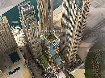 1 Bedroom Apartment for Rent in Business Bay, Dubai - Enjoying luxury living with amazing  view