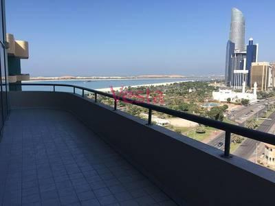 3 Bedroom Flat for Rent in Al Khalidiyah, Abu Dhabi - Sea view duplex