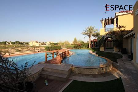 5 Bedroom Villa for Rent in Arabian Ranches, Dubai - Immaculate Type 21 with Private Pool