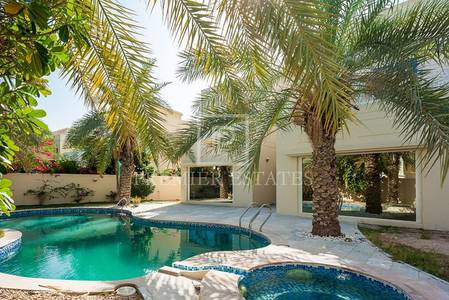 4 Bedroom Villa for Rent in The Meadows, Dubai - Modern Upgraded Extended 4BR-Away from Cables