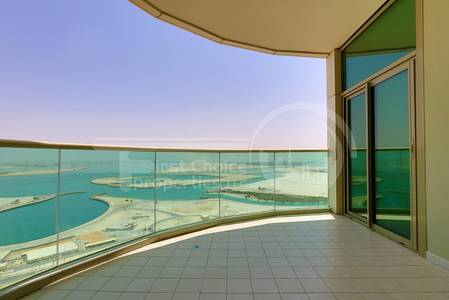 1 Bedroom Apartment for Sale in Al Reem Island, Abu Dhabi - High Floor! Sea and Pool View.Invest Now.!