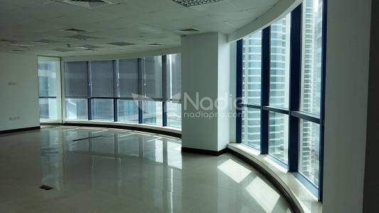 Office for Sale in Jumeirah Lake Towers (JLT), Dubai - Fitted Office |Partitions| X3 Tower