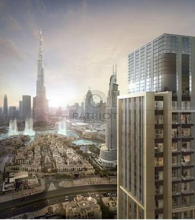 1 Bedroom Flat for Sale in Downtown Dubai, Dubai - Last Towe With Burj Khalifa View In Downtown | EMAAR