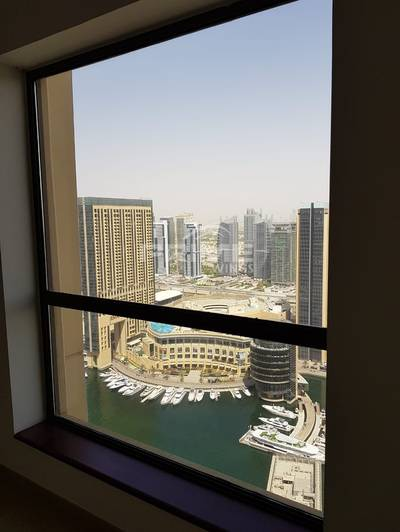 2 Bedroom Flat for Rent in Jumeirah Beach Residence (JBR), Dubai - Dont miss it 2Br Apt with Marina View  2 Units Unfurnished