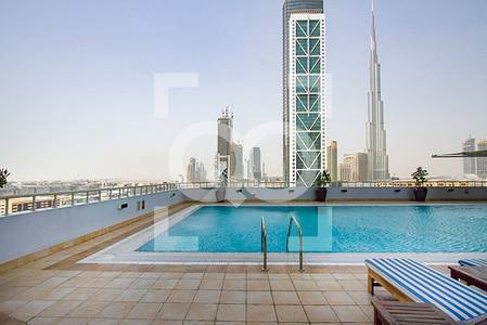 2 Bedroom Flat for Rent in Sheikh Zayed Road, Dubai - Partial Burj View | 2BHK Next to BB Metro |13 Months Contract