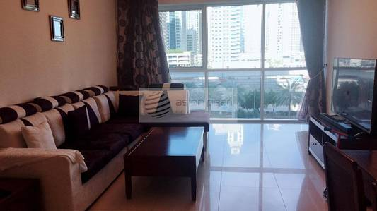 1 Bedroom Apartment for Rent in Jumeirah Lake Towers (JLT), Dubai - Fully Furnished 1 BR | SZR View | Vacant
