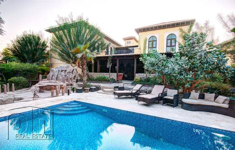 6 Bedroom Villa for Rent in The Villa, Dubai - One of a kind Mallorca next to Spinneys.