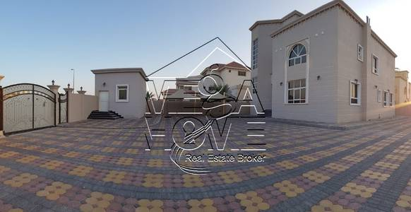 8 Bedroom Villa for Rent in Khalifa City A, Abu Dhabi - NEW-Huge -Stand-Alone 8 MBR W/Elevator, 2 Drivers room and Kitchen outside