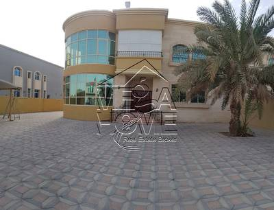 6 Bedroom Villa for Rent in Khalifa City A, Abu Dhabi - 6-BR VILLA W/ PRIVATE ENTR/POOL/DRIVER AND KITCHEN OUTSIDE