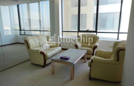 Office for Rent in Jumeirah Village Circle (JVC), Dubai - Fitted?Spacious?Stadium View?Good Layout