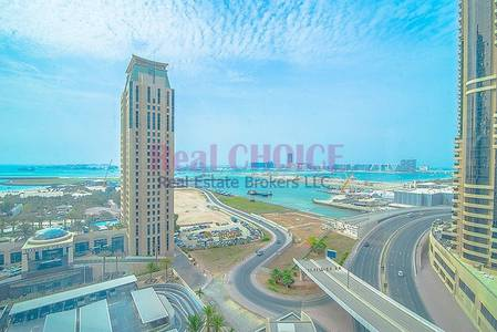 1 Bedroom Apartment for Rent in Dubai Marina, Dubai - Full Sea View | Well Maintained 1BR Unit