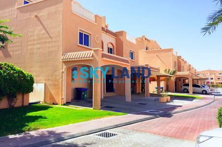 5 Bedroom Villa for Rent in Al Reef, Abu Dhabi - vacant 5bedrooms single row corner villa