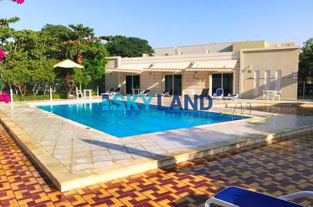 4 Bedroom Villa for Rent in Al Reef, Abu Dhabi - hurry vacant soon 4 beds double row 129k