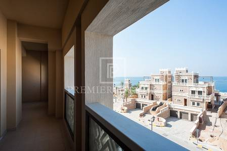 2 Bedroom Flat for Rent in Palm Jumeirah, Dubai - High End 2 BR-Balqis Residence - Sea view