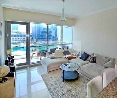 1 Bedroom Flat for Sale in Dubai Marina, Dubai - 1BR with Large Balcony