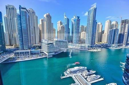 1 Bedroom Apartment for Sale in Dubai Marina, Dubai - Spacious 1BR w / Marina View