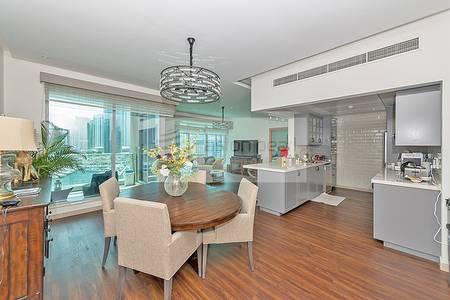 3 Bedroom Apartment for Sale in Dubai Marina, Dubai - Upgraded 3 BR + M with  Full Marina view