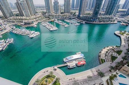 2 Bedroom Apartment for Sale in Dubai Marina, Dubai - Full Marina View 01 Type