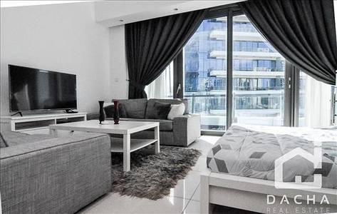 Studio for Rent in Dubai Marina, Dubai - LUXURY CLEAN BRAND NEW FURNITURE FOR PROFESSIONAL TENANTS