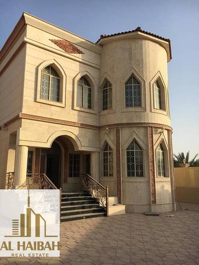 6 Bedroom Villa for Sale in Musherief, Ajman - For sale a two-story villa with electricity and water in Mashirf