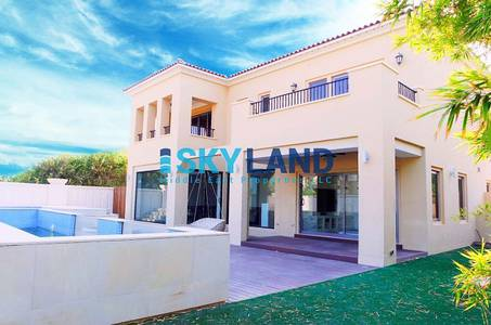 4 Bedroom Villa for Sale in Saadiyat Island, Abu Dhabi - luxurious corner villa in prime location