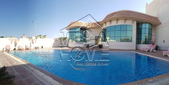 5 Bedroom Villa for Rent in Khalifa City A, Abu Dhabi - SUPER 5 Master Bed Villa with Shared Pool, Gym, Party Room
