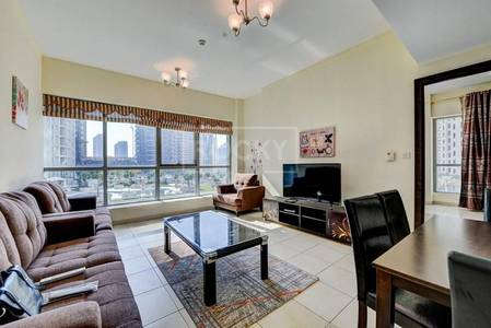 1 Bedroom Flat for Rent in Dubai Marina, Dubai - 1-Bed with Partial Marina View in Point Tower