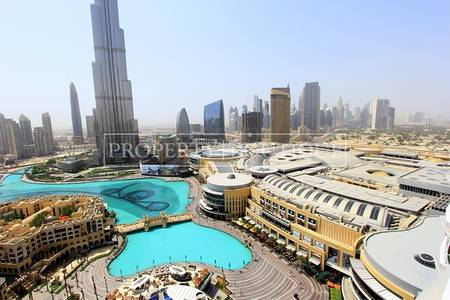 1 Bedroom Flat for Sale in Downtown Dubai, Dubai - 1 Bedroom | Full Burj Khalifa and Fountain view
