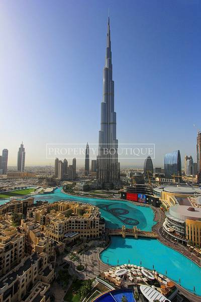 1 Bedroom Apartment for Sale in Downtown Dubai, Dubai - Burj Khalifa and Fountain View | 1Bedrooom