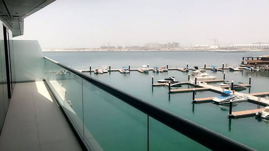 1 Bedroom Apartment for Rent in Al Raha Beach, Abu Dhabi - Amazing Full Sea View 1BR 100k only.