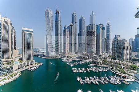 3 Bedroom Apartment for Rent in Dubai Marina, Dubai - Furnished 3BR+M Full Marina View