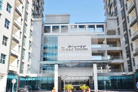 Studio for Rent in Dubai Marina, Dubai - Exclusive Studio Apartment|Podium LevelDEC Towers|Dubai Marina